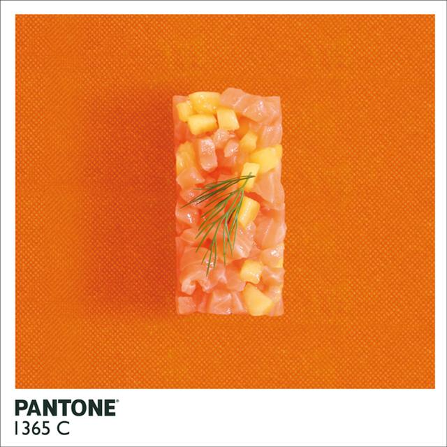 Alison Anselot. Pantone Food