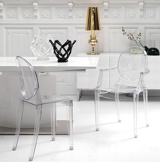 Dolce hogar decora con mobiliario transparente for Imagen 3 mobiliario