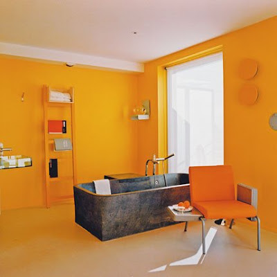 Hermoso Baño de color Amarillo