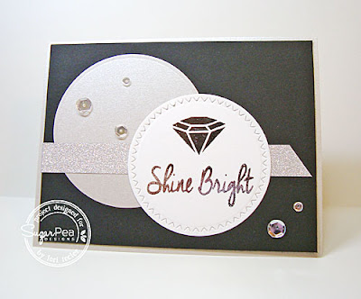 Shine Bright card-designed by Lori Tecler/Inking Aloud-stamps and dies from SugarPea Designs