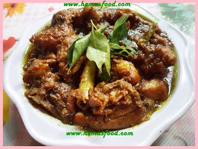 Miriyala kodi kura - Pepper Chicken Curry