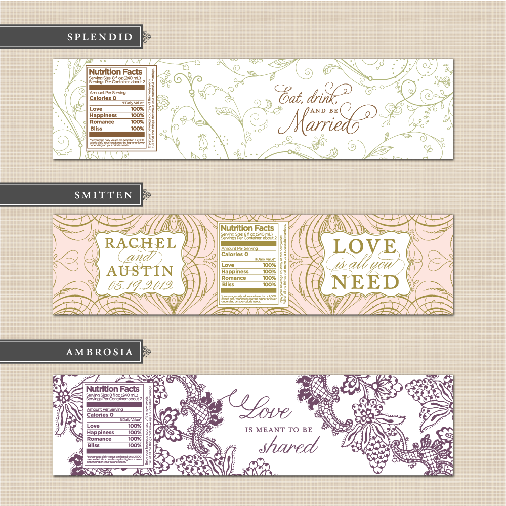 Belletristics: Stationery Design and Inspiration for the DIY Bride ...