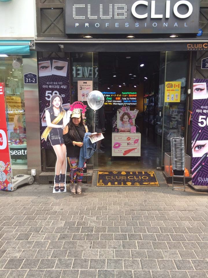 Picture of Sandara Park in Club Clio Myeongdong