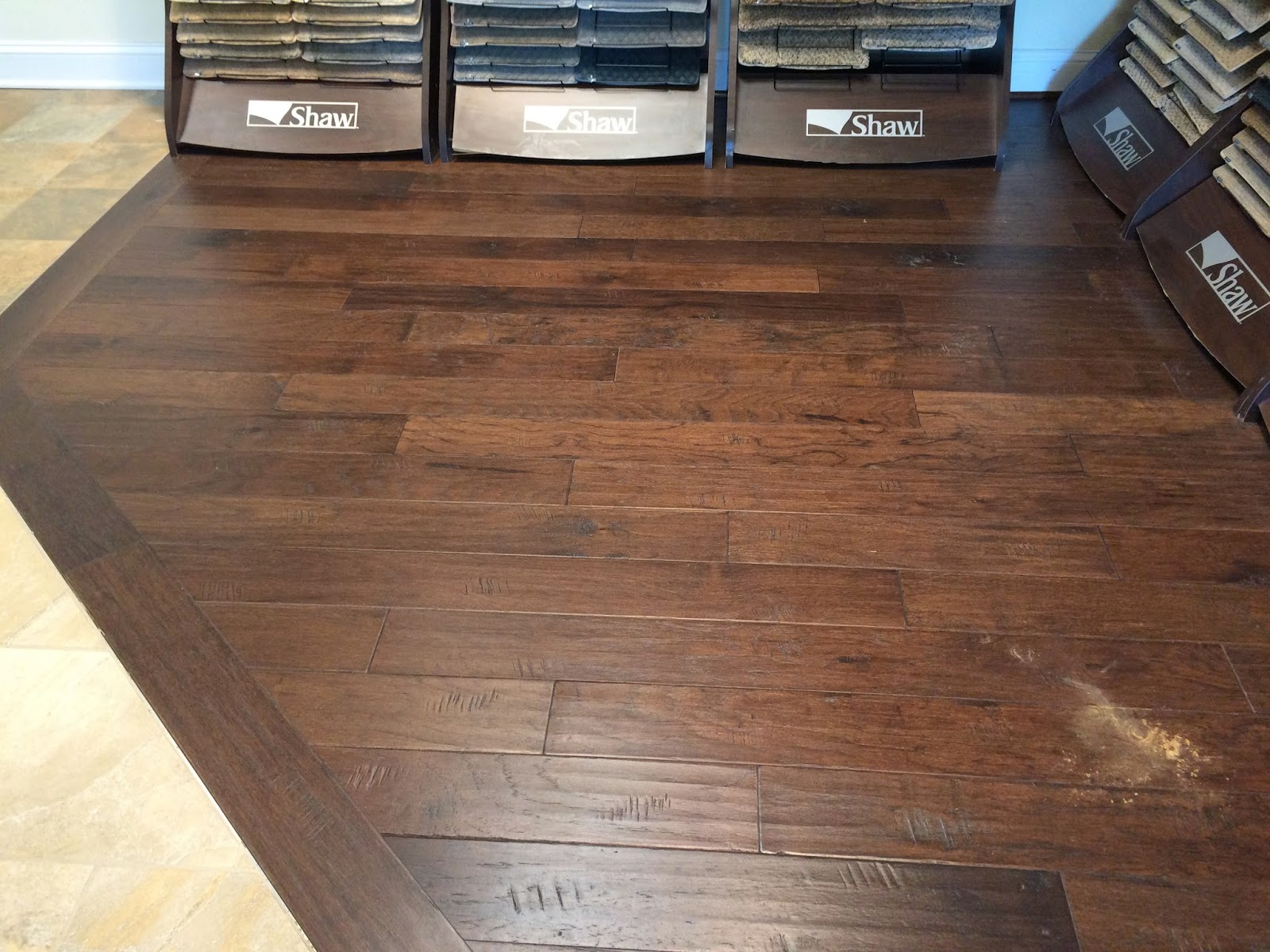 Armstrong Hickory Deep Java engineered hardwood