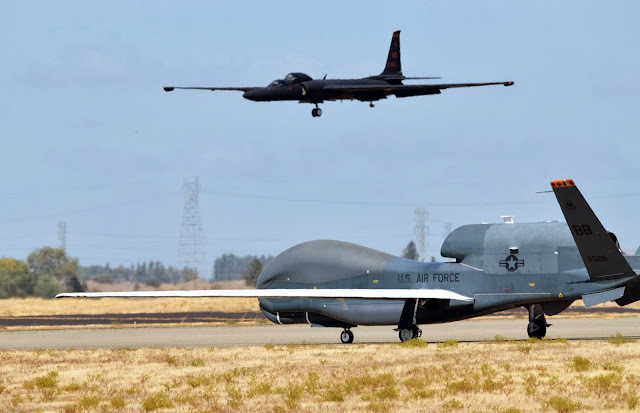 U2 Dragon Lady & RQ-4 Global Hawk