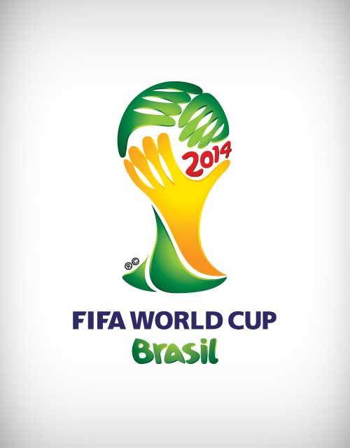 fifa world cup brazil 2014 vector logo designway4u