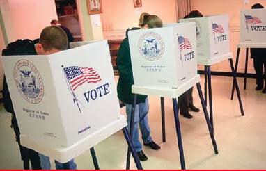 การลงคะแนนเสียงในสหรัฐ