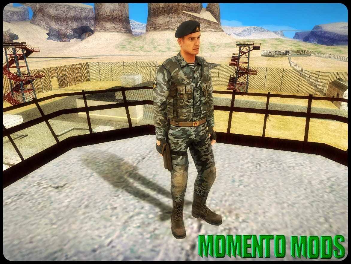 GTA SA - Skin Do Soldado Russo