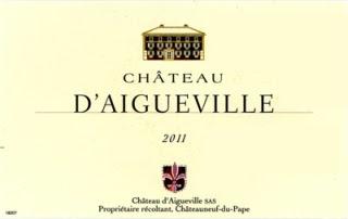 Château d'Aigueville Rouge - Côtes-du-Rhône AC