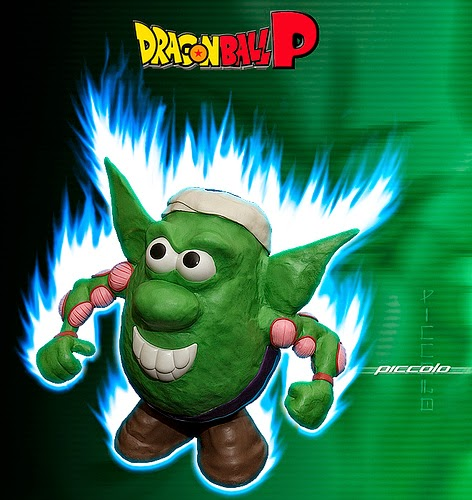 Mr. Potato versión Piccolo de Dragon Ball