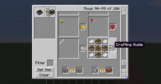 Craft Guide Mod Skydaz