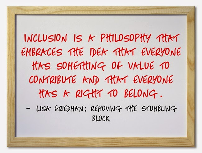 philosophy of inclusive teaching Inclusion is an educational approach and philosophy that provides all students  with  the philosophy behind inclusive education is to promote opportunities for.