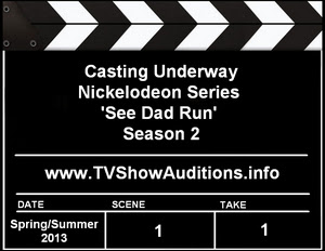 Nickelodeon Casting See Dad Run Actors Extras