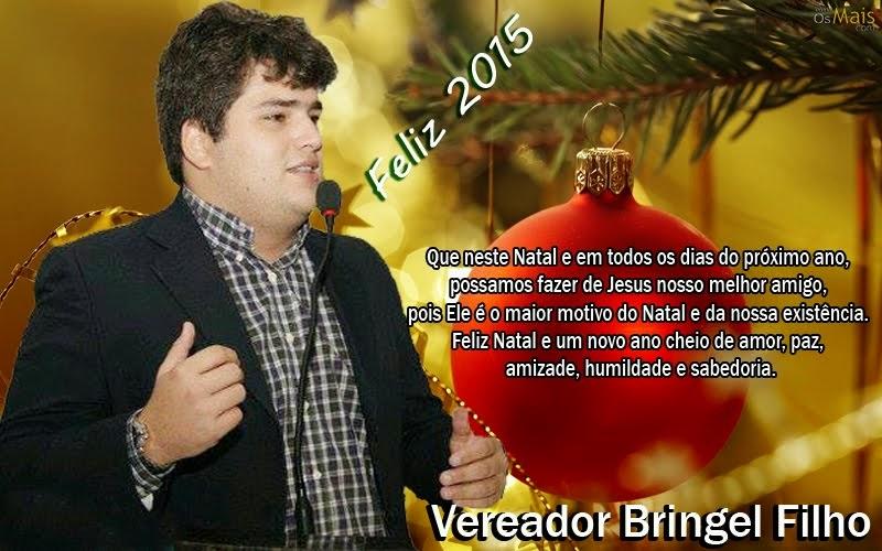 Mensagem do Vereador Bringel Filho