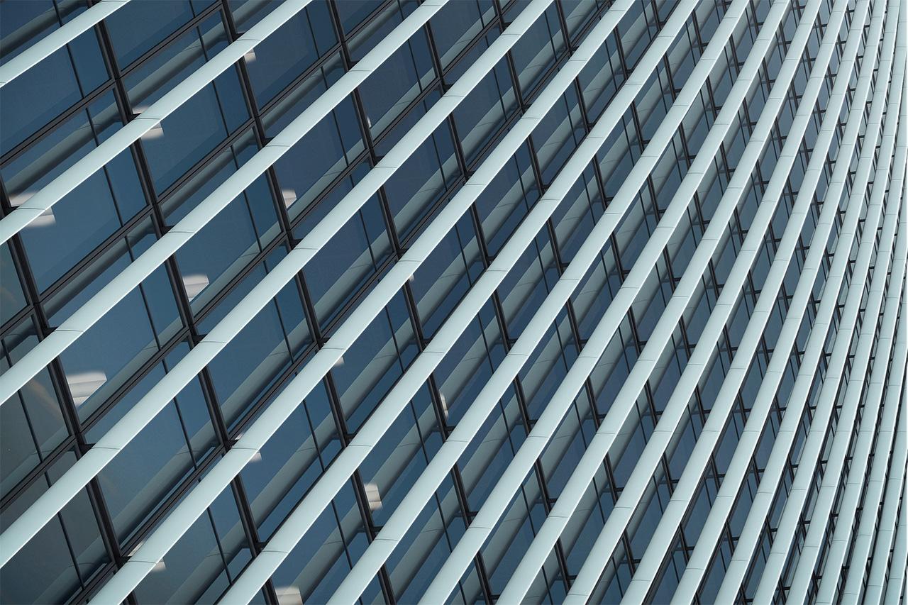 Mig3d architecture: perspective tour de bureaux