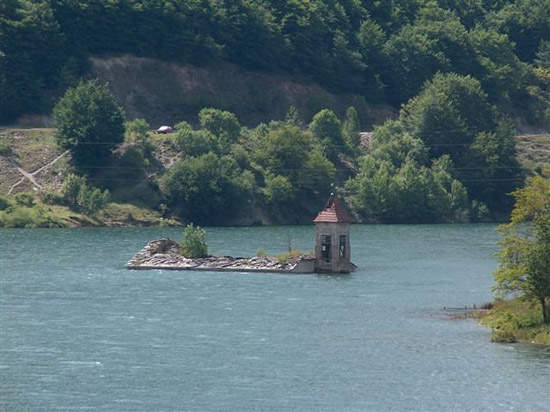 Drowned Church in Macedonia