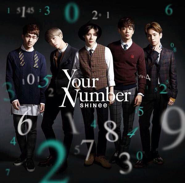 SHINee to release new Japanese single 'Your Number ... Shinee Ring Ding Dong Album Cover
