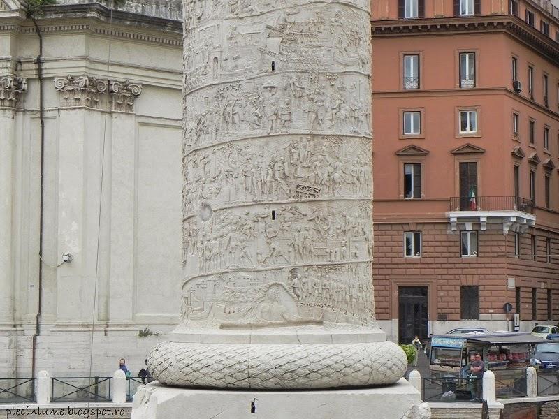 Columna lui Traian detaliu