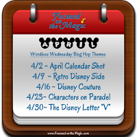The Disney Wordless Wednesday Themes for April
