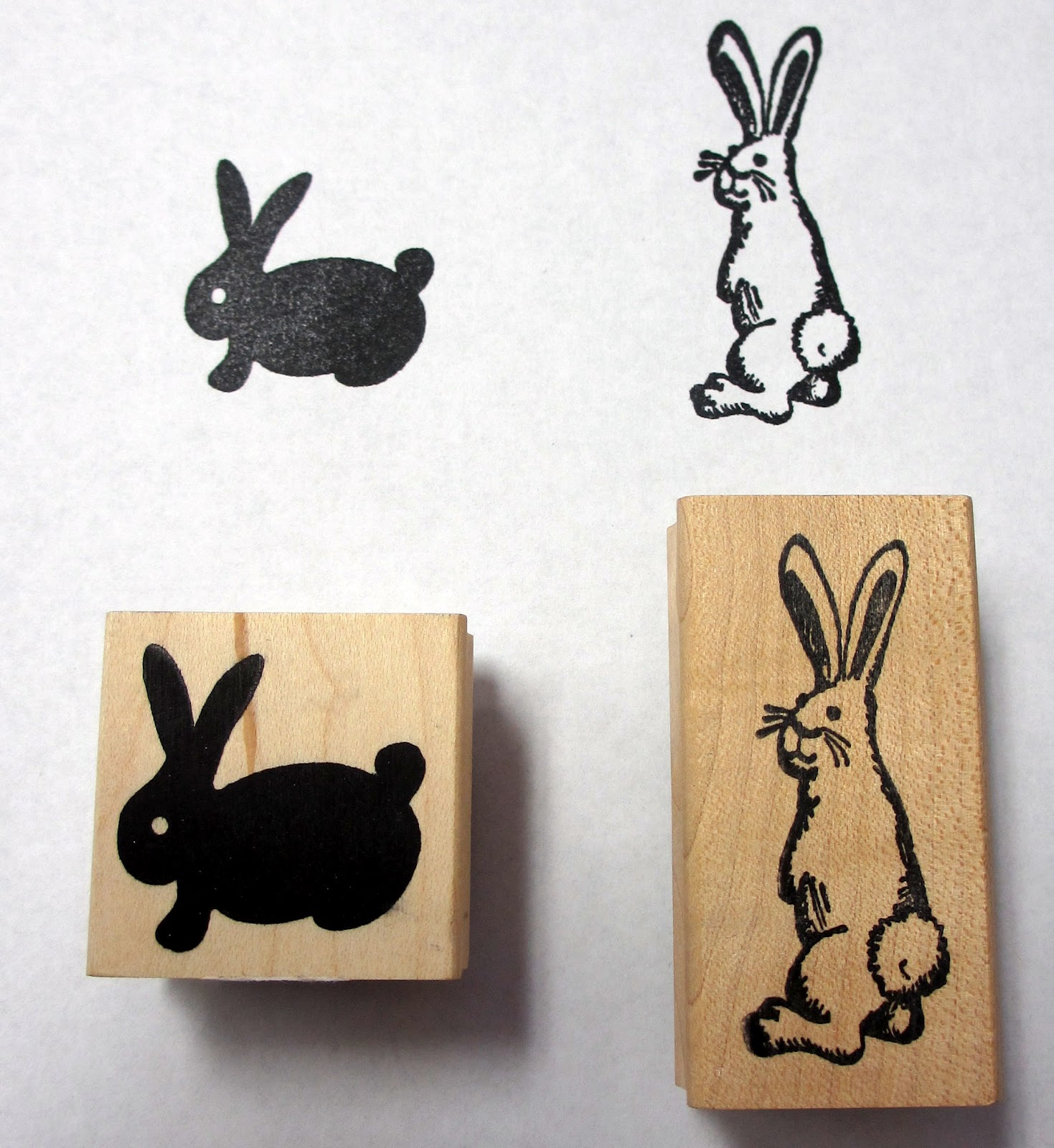 Another Kind Of Bunny Stamp