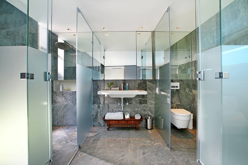 World of architecture stunning spa house in cape town for South african bathroom designs