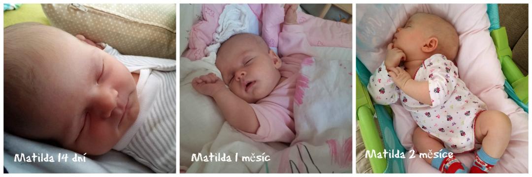 novorozenec, Matilda, miminko