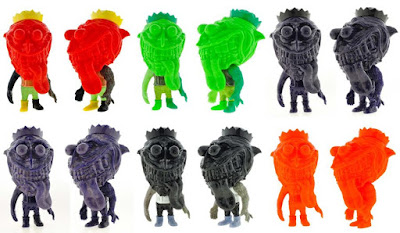 San Diego Comic-Con 2015 Exclusive Misfit Zinewolf Vinyl Figures by Hateball
