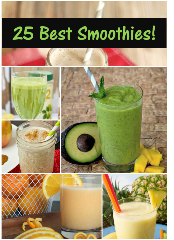 Smart Recipes: 25 of the Best Smoothies!