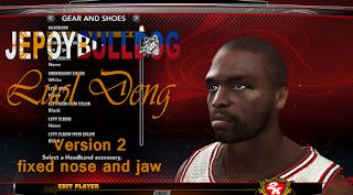 NBA 2K13 Luol Deng Cyber Face Mod