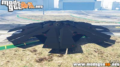 V - Stealth UFO para GTA V PC