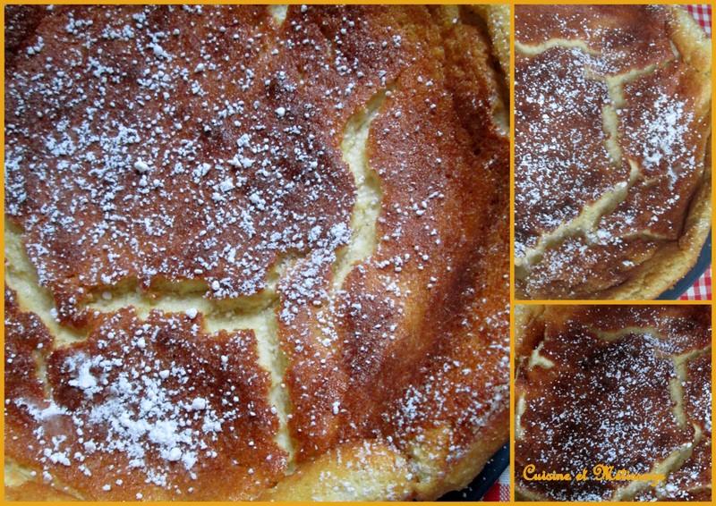 gâteau fromage blanc orange vanille