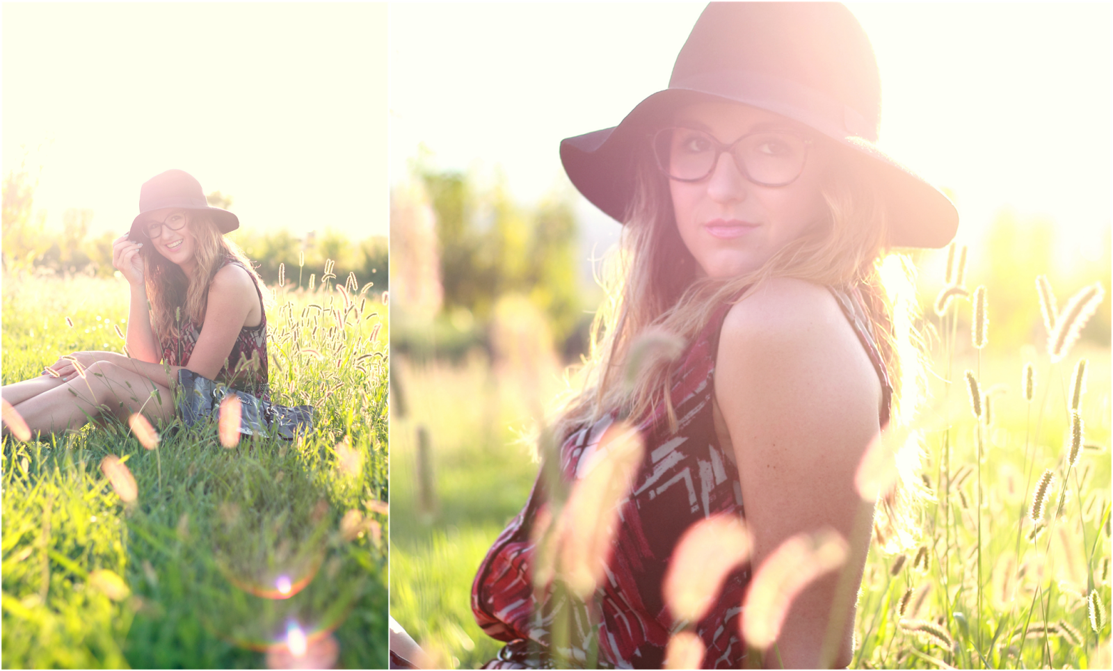 Life in the Sunshine : Floppy Hat & Romper