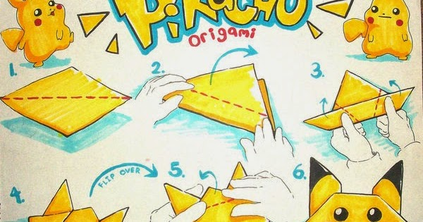 How To Make Easy Origami Pokemon