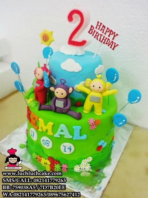 kue tart ulang tahun teletubbies daerah surabaya - sidoarjo