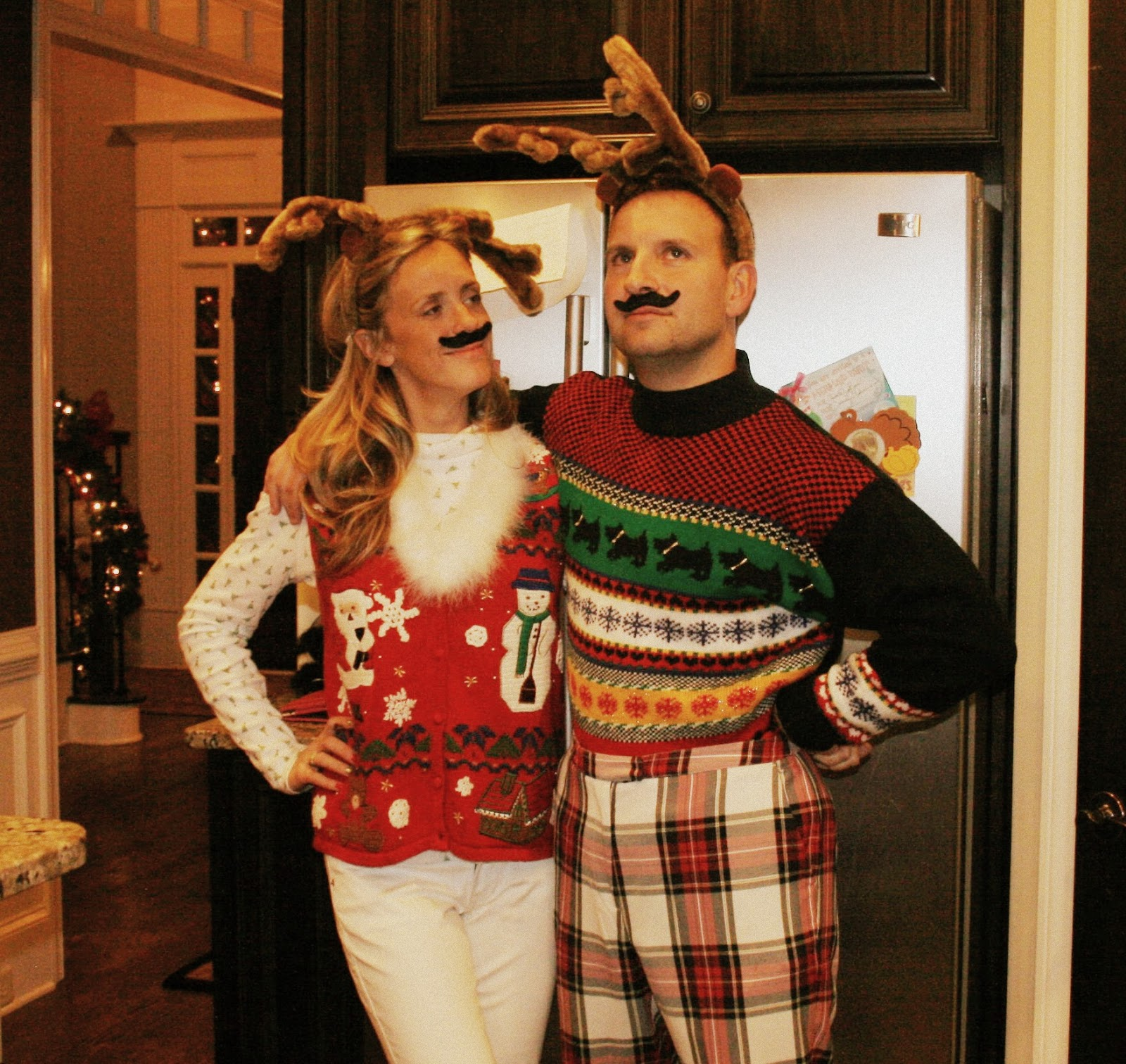 Ugly Christmas Party Sweaters: And Everything Sweet: Ugly Sweater Party
