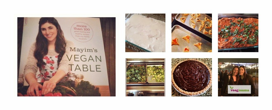 VeegMama cookbook review of Mayim's Vegan Table