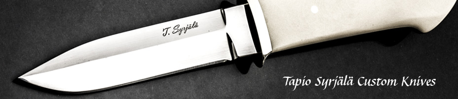 Tapio Syrjälä Custom Knives
