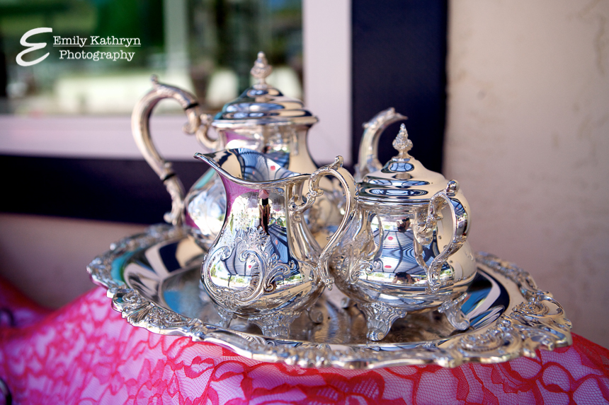 tea party bridal shower beautiful tea set from