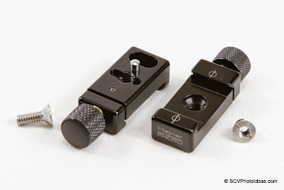"Hejnar Photo F60 - 1"" clamps x 2 + hardware"