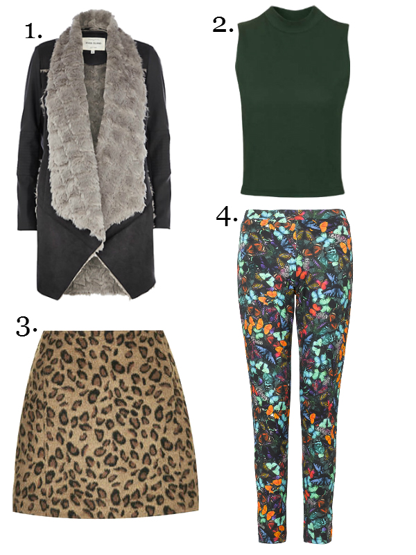 Wishlist feat. River Island; Warehouse; Topshop