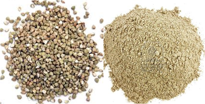 how to make buckwheat flour from groats