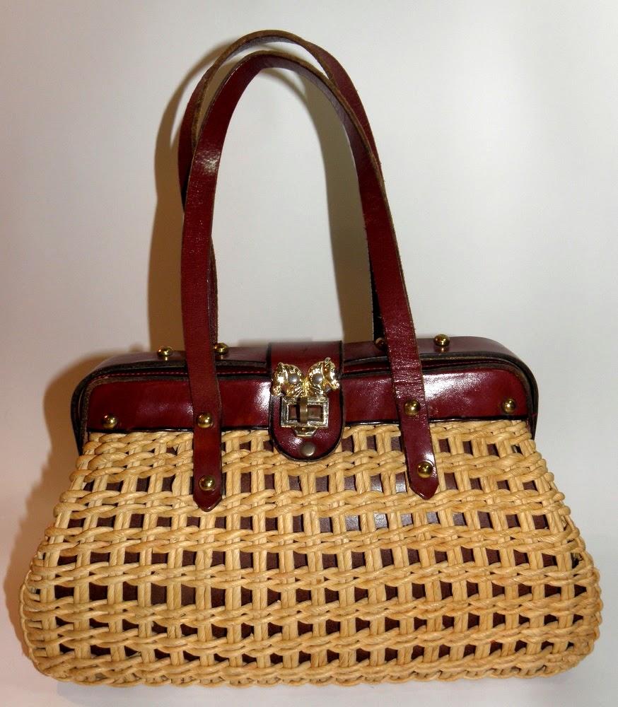 Vintage horse purse