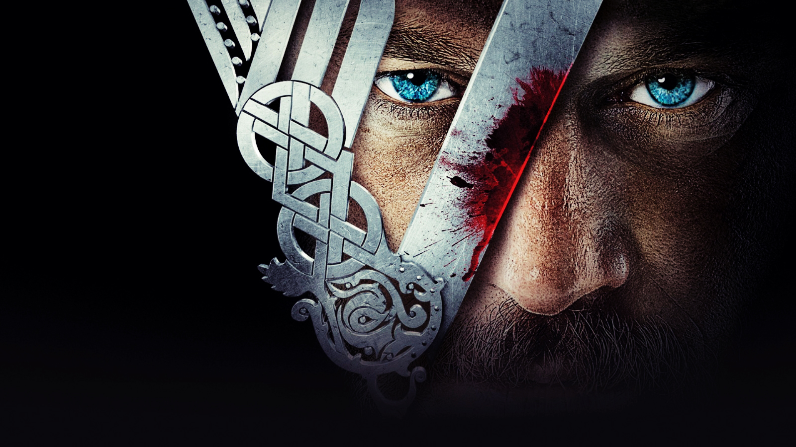 Vikings Ragnar Eyes HD Wallpaper