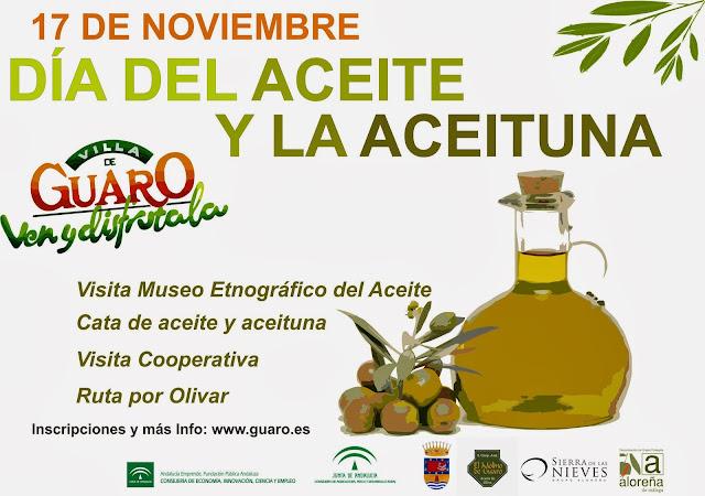Día del Aceite y la Aceituna. Guaro