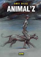 Animal Z,Enki Bilal,Norma Editorial  tienda de comics en México distrito federal, venta de comics en México df