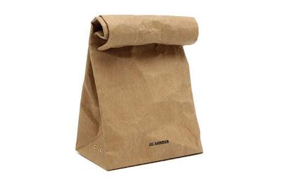 sac en papier: jil sander vasari