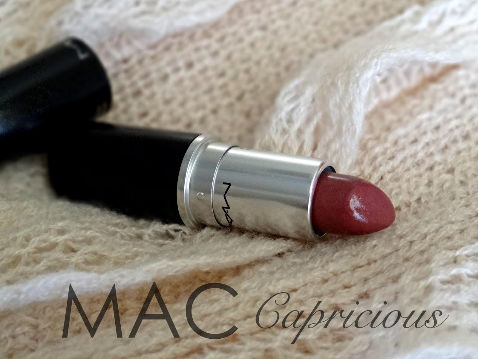 mac capricious lustre lipstick review, Photos & swatches