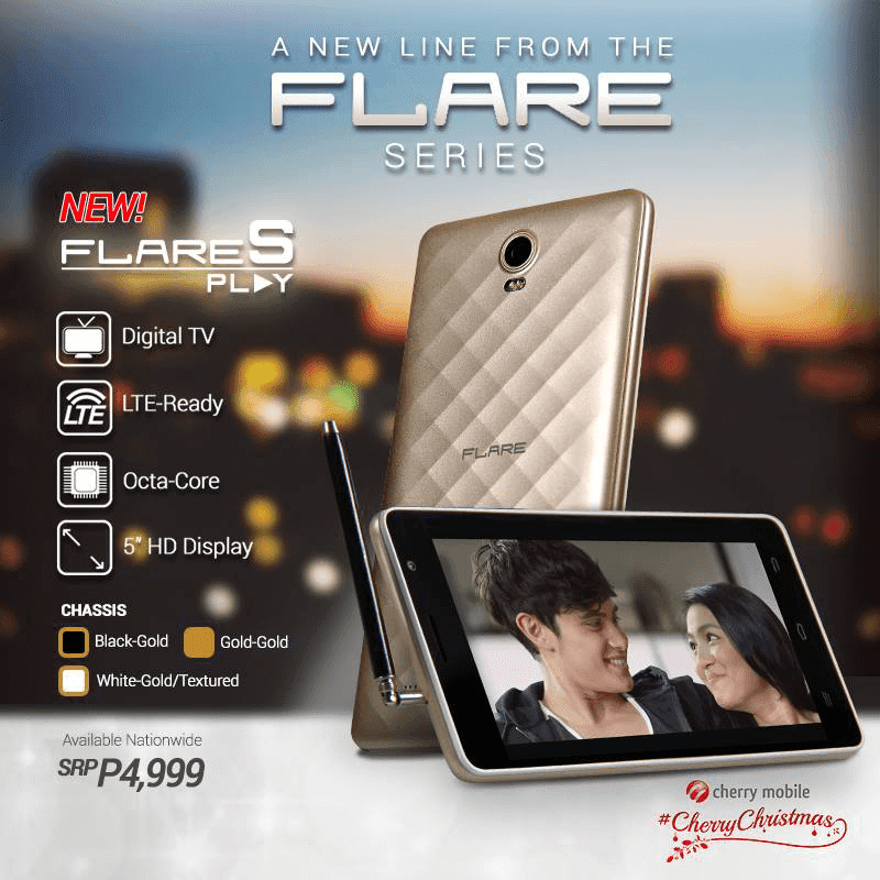 Cherry Mobile Flare S Play Goes Official! An Octa Core LTE Ready Handset With 2 GB RAM And DTV Function For 4999 Pesos Only!