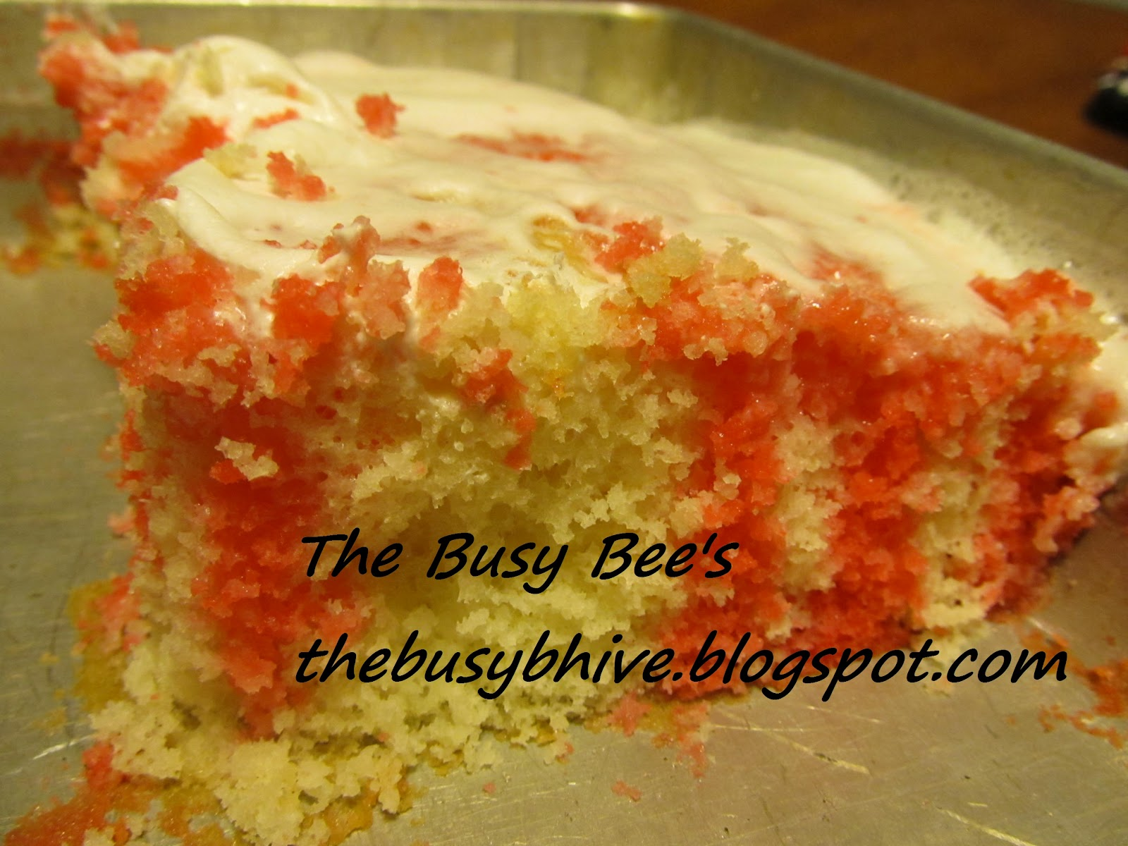 The Busy Bee's: Jell~O Poke Cake