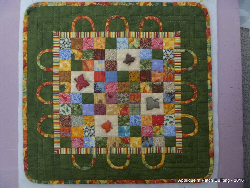 Challenge quilt